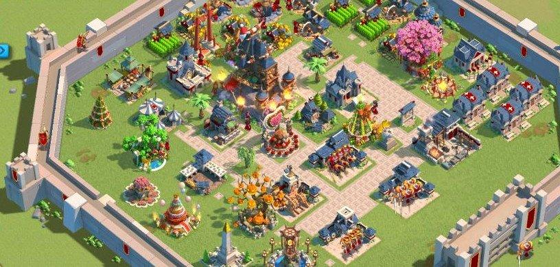 Rise of Kingdoms Şehir Düzenleri