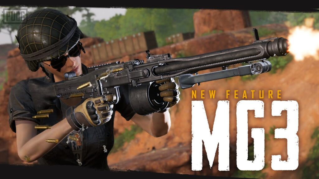 Yeni Silah: MG3