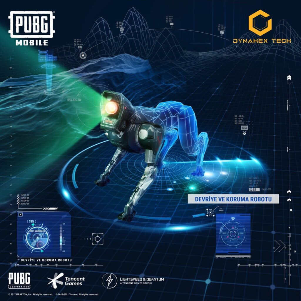 PUBG Mobile Devriye Koruma Robotu Nerede? ve Hangi Haritada?