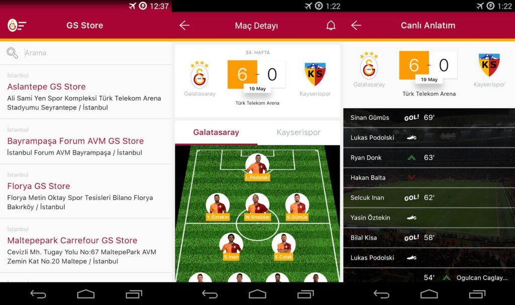 Galatasaray Mobil Uygulaması APK İndir