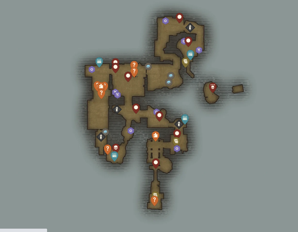 New World Haritası: Lazarus İnstrumentality